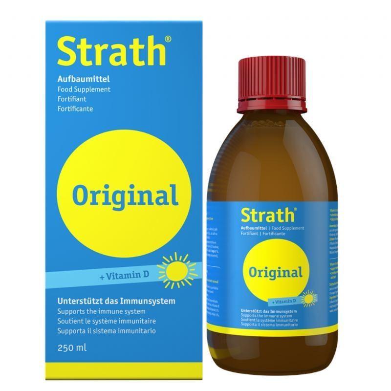 Strath sirup z vitaminom D